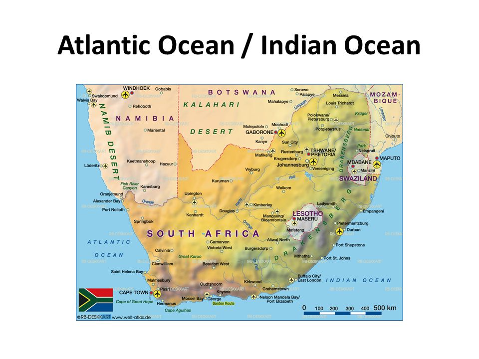 Atlantic Ocean / Indian Ocean