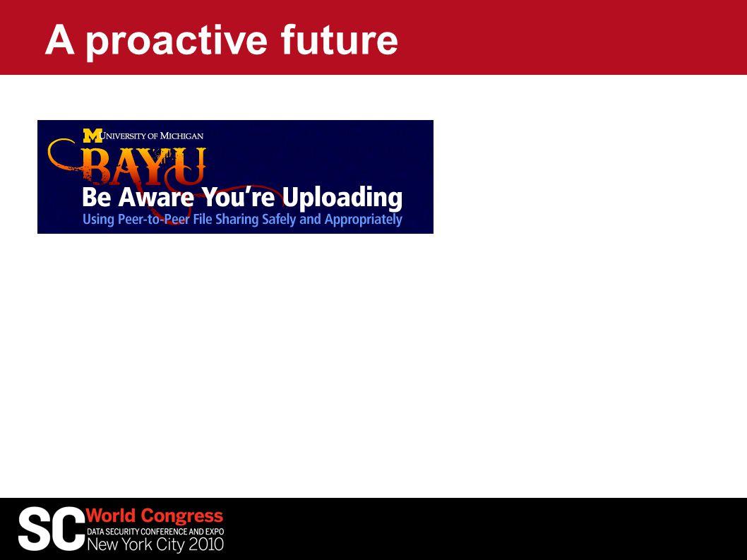 A proactive future