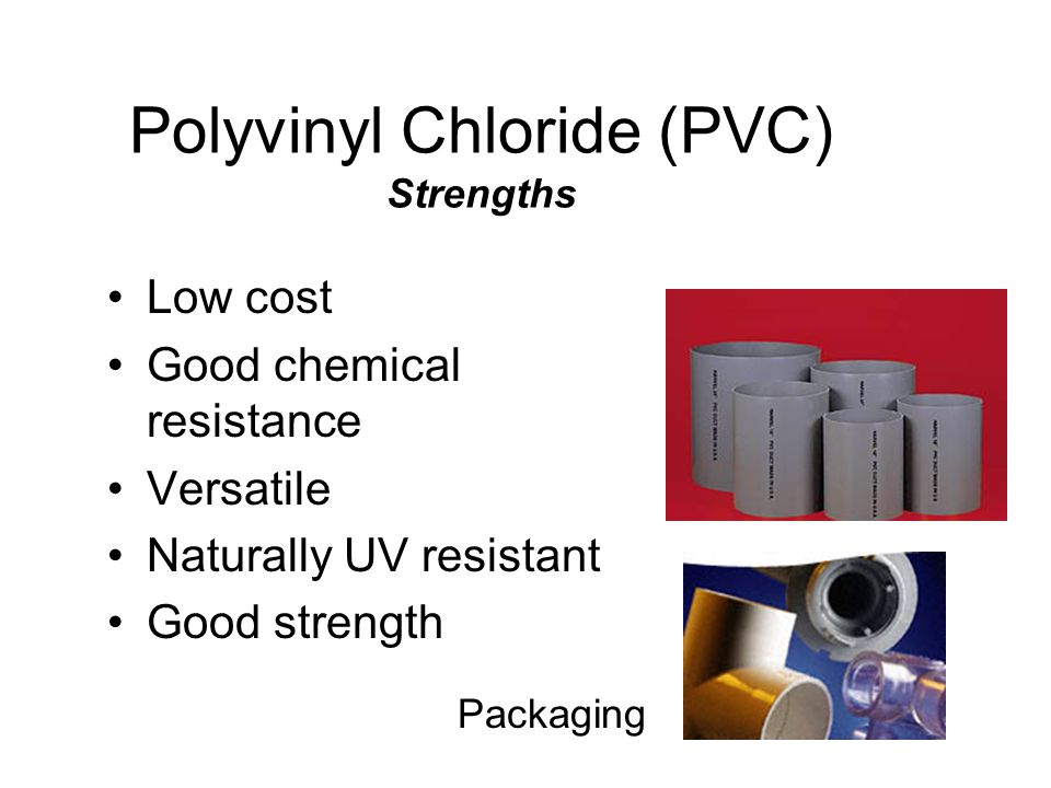Acrylonitrile Butadiene Styrene (ABS) Good impact resistance Easily formable Many different formulations EX. Computer housings Consumer electronics Au