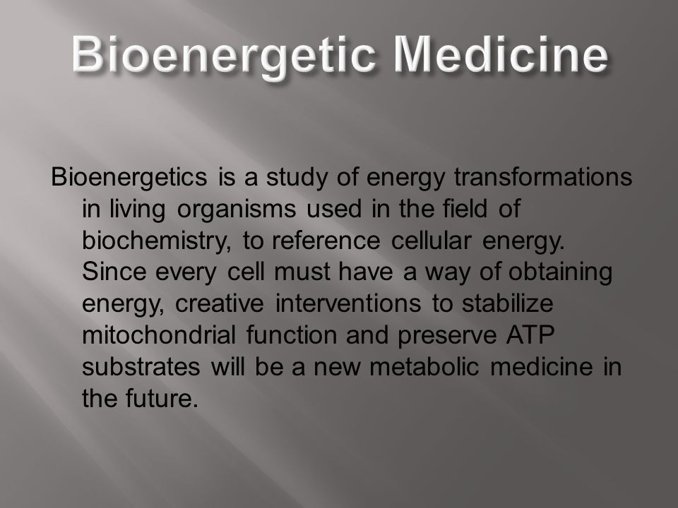 Bioenergetics is a study of energy transformations in living organisms used in the field of biochemistry, to reference cellular energy. Since every ce