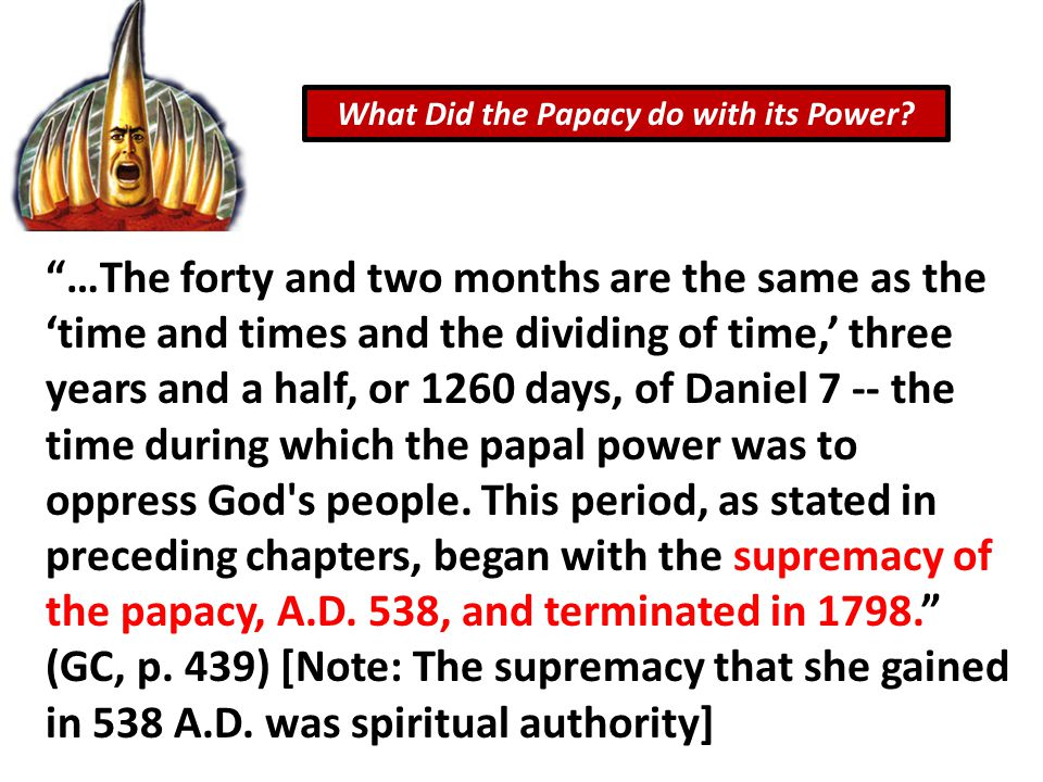 What Did the Papacy do with its Power.