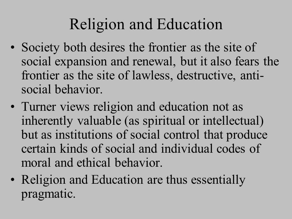 Democracy However, Turner also recognizes that there is a danger to the kind of democracy that emerges on the frontier (see 36), if it threatens to destroy the social framework, a destructive form of individualism.