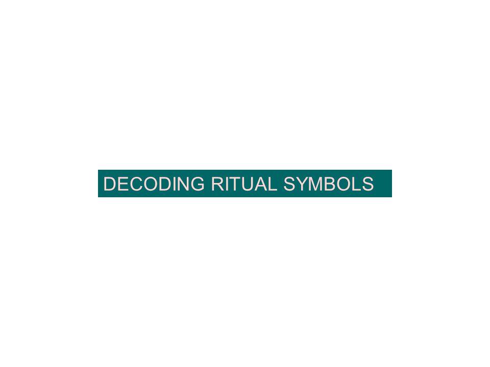 DECODING RITUAL SYMBOLS