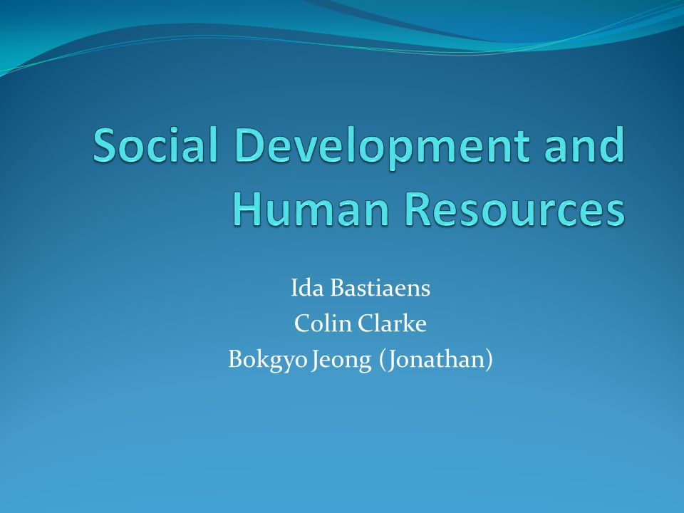 Martinussen Ch 21 cont'd Social Welfare and Sustainable Human Development – Haq: 1990 HDR, enlarge choices/opportunities (to life, knowledge, resources) Unobserved Poverty (Chambers) – Challenge for policy makers to see poor – Spatial, seasonal, diplomatic, professional biases Gender and Development Women in Development – Rathgeber – Exclusion, inferiority… want to mainstream, integrate Gender and Development – Young – Gender relations, public and private spheres, structure, process