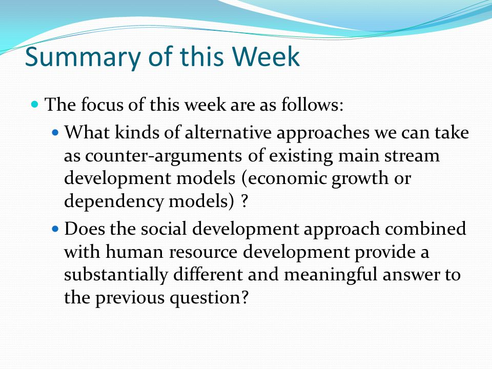 Isbister Ch 2: A World of Poverty Poverty is the inability to make choices – Micro and macro level (excluded from power or benefits of society) – Third World: excluded, nonaligned, disenfranchised Poverty is INSECURITY Today's poor connected to changing world – Recent poverty not traditional– urban slums Responsibility to help – How does rich policies and progress affect 3 rd world