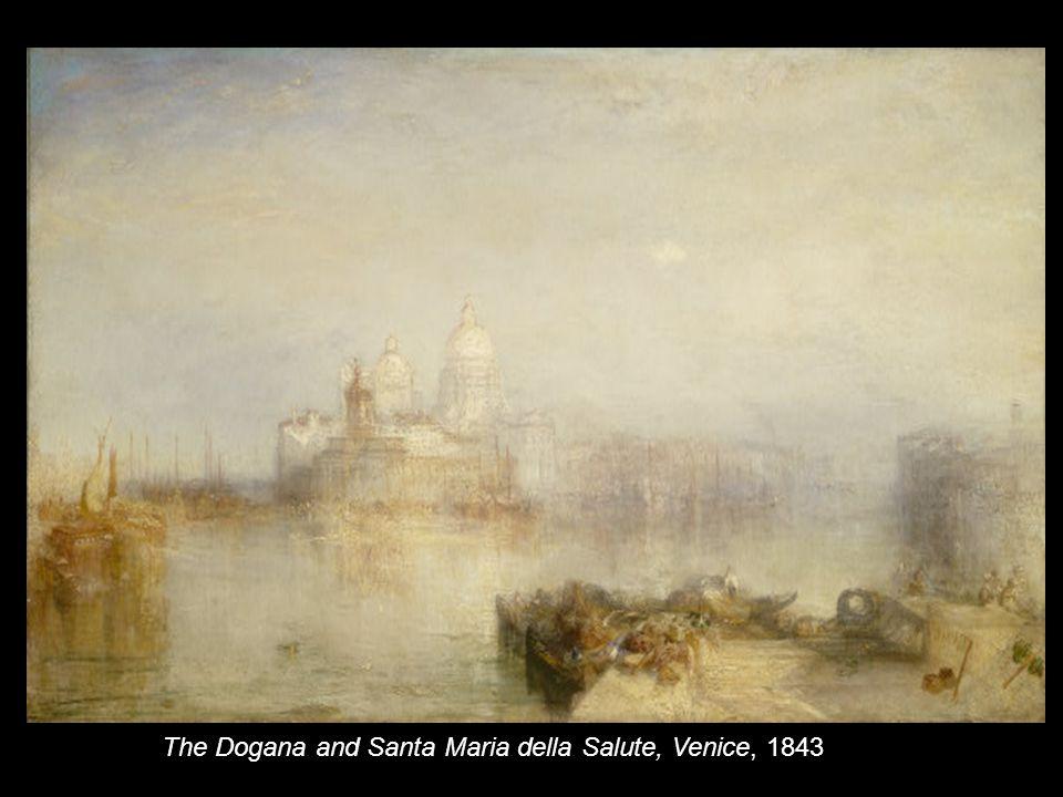 Venice - Maria della Salute exhibited 1844