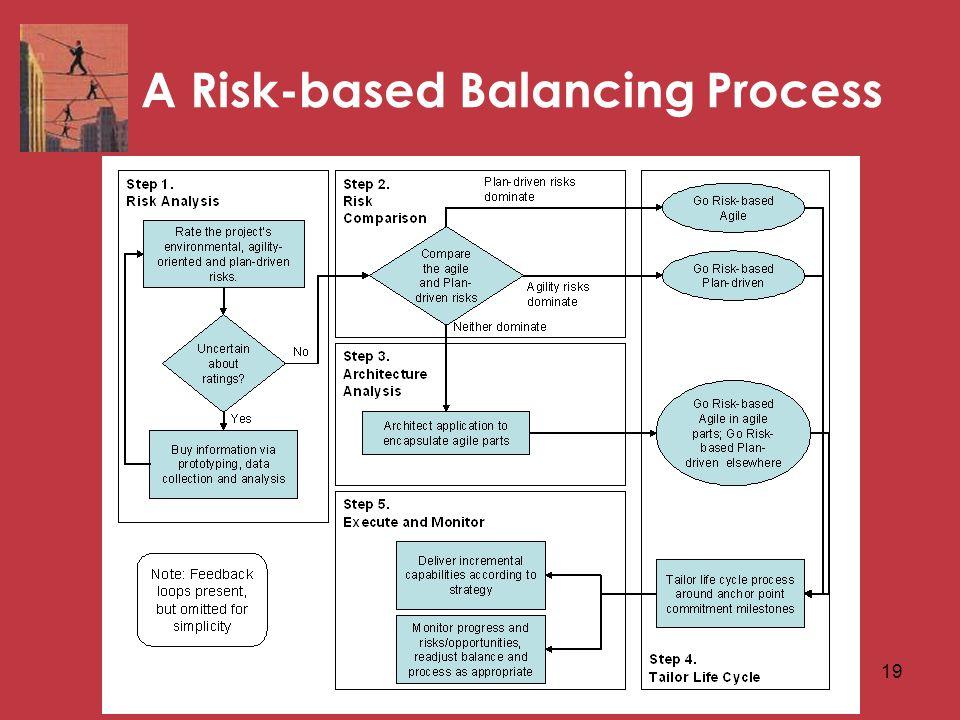 19 A Risk-based Balancing Process