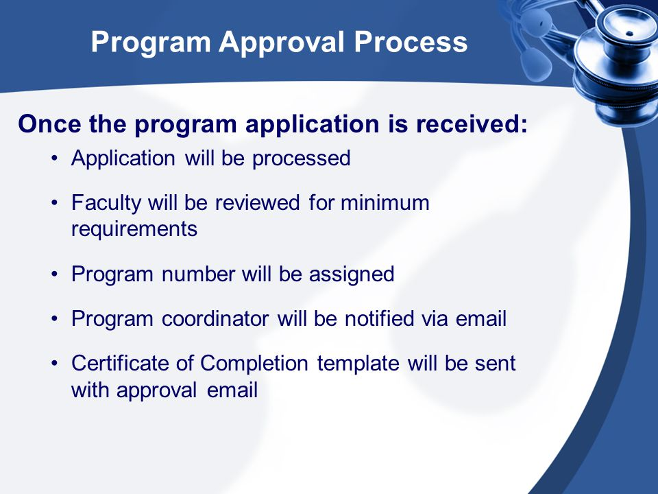 Program Review/Renewal Home Care Aide programs will be reviewed by the Education Consultant at the time of the Nurse Aide I Training program renewals