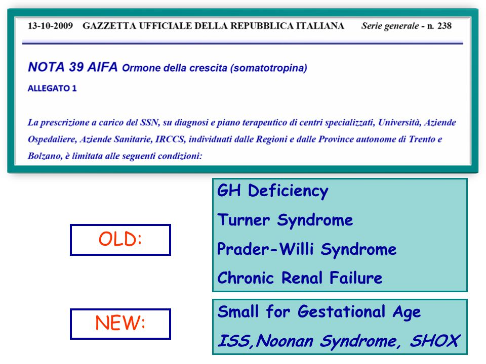 SGA CAUSES FETAL FACTORS Karyotypic abnormalities (trisomy 21, trisomy 18, monosomy X, trisomy 13); Other chromosomal abnormalities (autosomal deletions, ring chromosomes); Genetic diseases (achondroplasia, Bloom syndrome); Congenital anomalies (Potter syndrome, cardiac abnormalities).