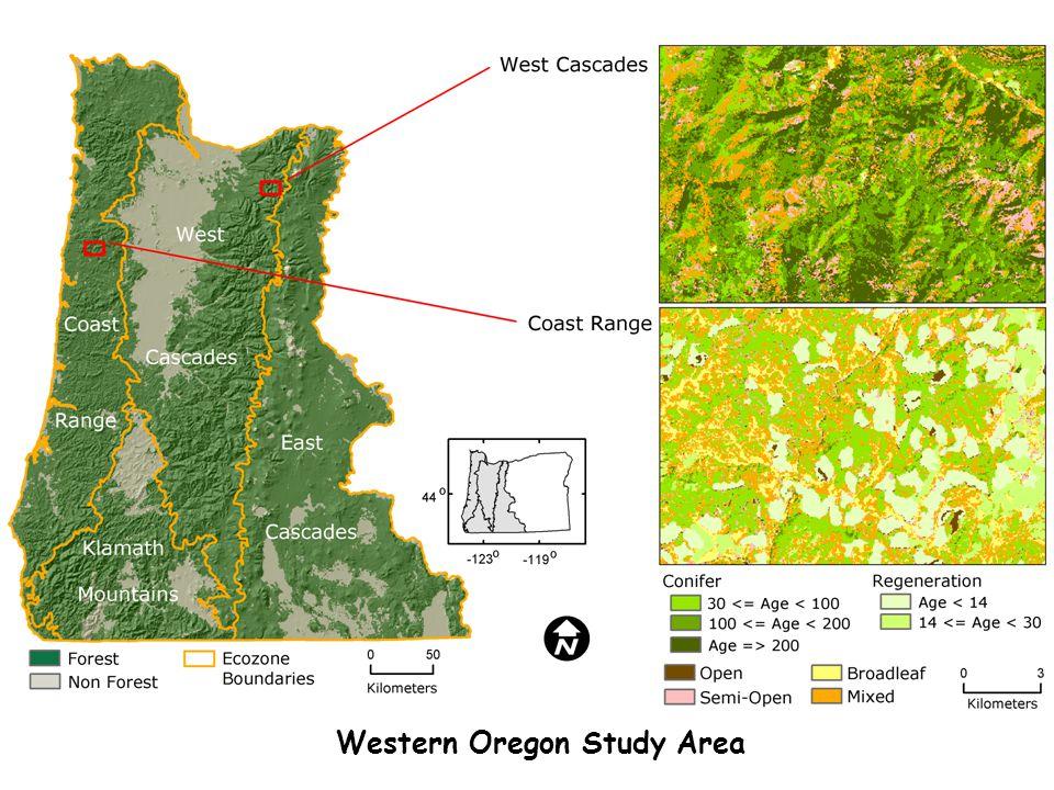 Western Oregon Study Area