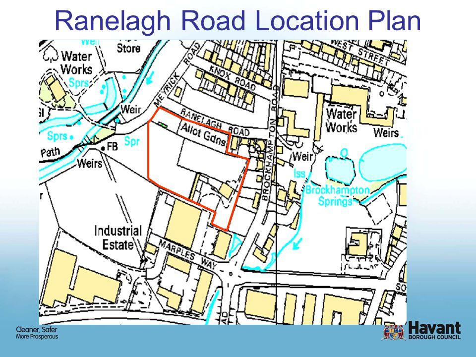 Ranelagh Road Location Plan