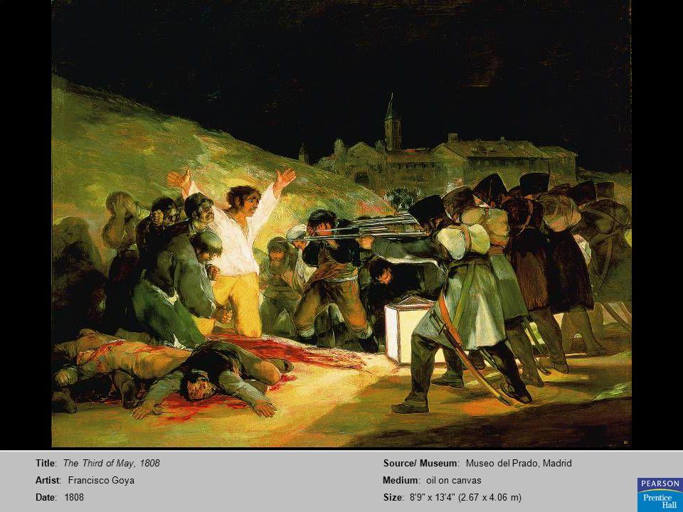 Title: Untitled (Saturn Devouring One of His Children) Artist: Francisco Goya Date: ca.