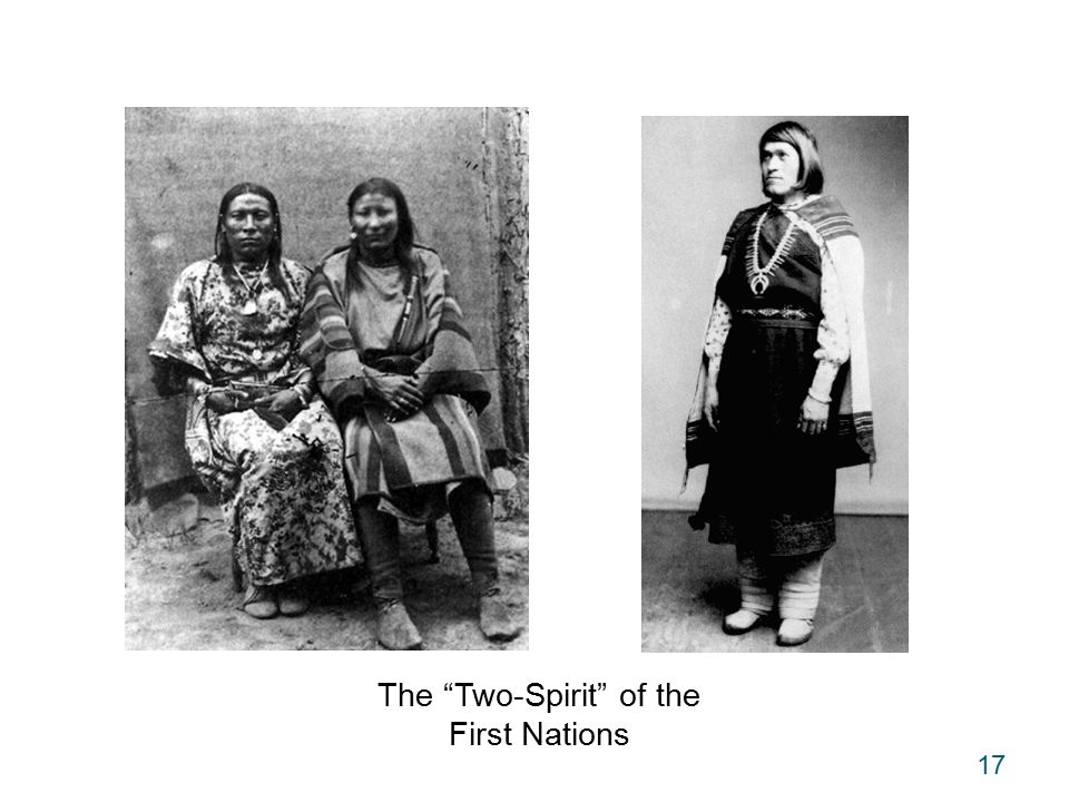 17 The Two-Spirit of the First Nations