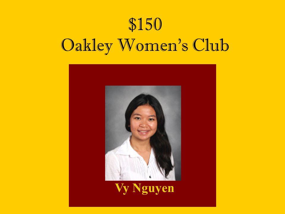 $150 Oakley Women's Club Vy Nguyen
