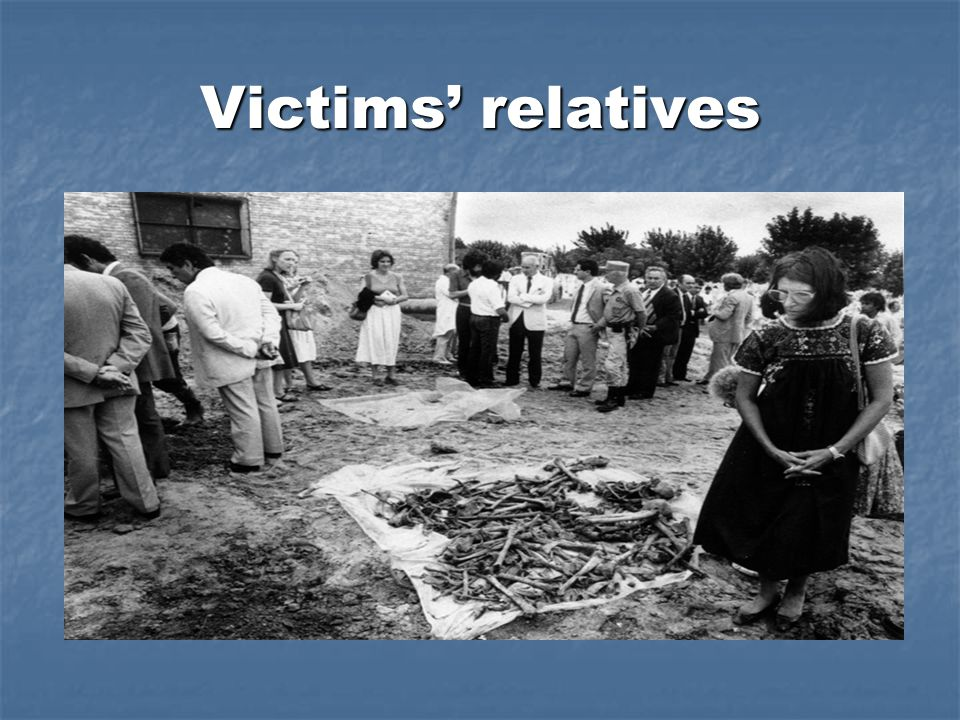Victims' relatives