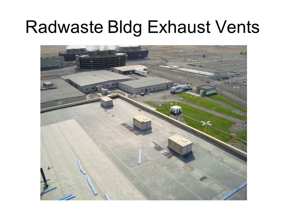 Radwaste Bldg Exhaust Vents