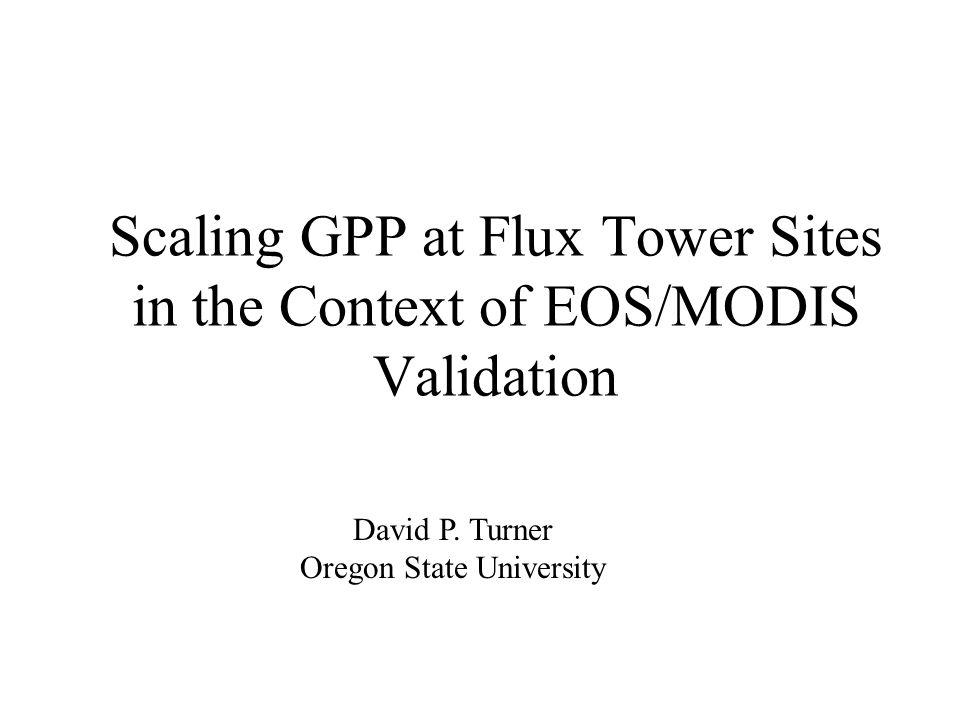 NPP and GPP at the Konza Site (units are gC m -2 yr -1 ) tallgrass prairie (1997) ANPP (measured ) 128 BNPP (estimated) 256 TNPP 384 GPP (flux tower) 1453 NPP/GPP 0.26 TNPP (simulated) 731 GPP (simulated) 1349 NPP/GPP (simulated) 0.54