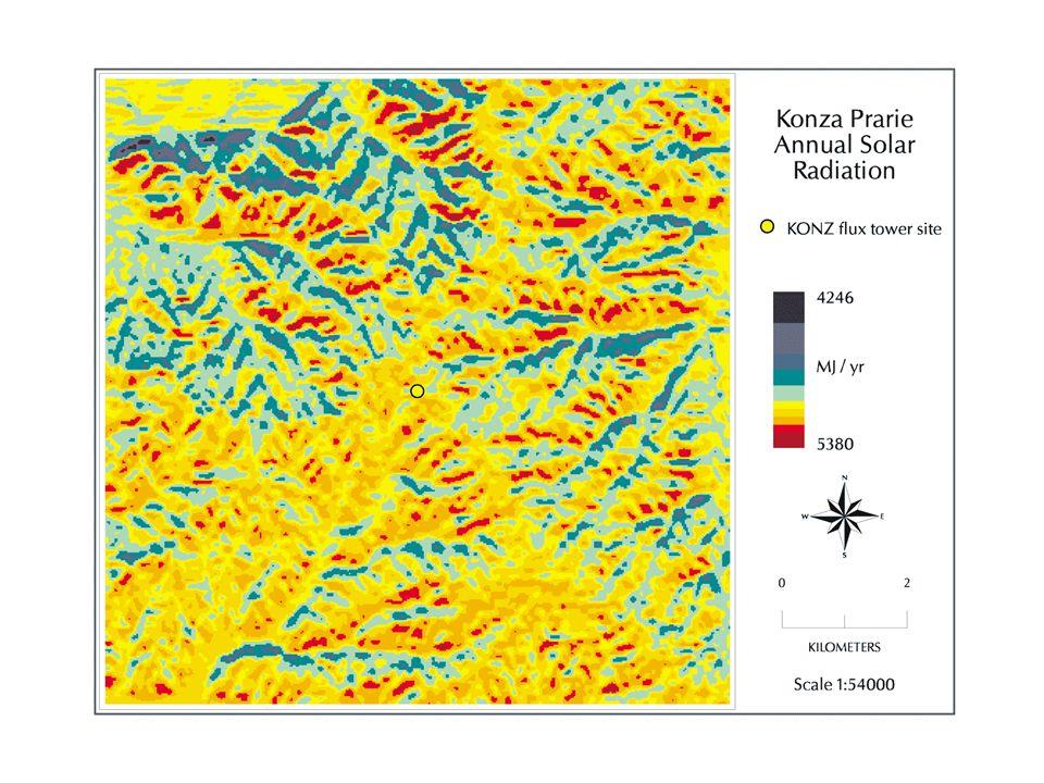 NPP and GPP at the Northern Boreas Site (units are gC m -2 yr -1 ) Old Black Spruce (1994) ANPP (measured ) 148 BNPP (estimated) 135 TNPP 285 GPP (flux tower) ~800 NPP/GPP 0.36 TNPP (measured) 285 Plant Respiration (scaled) 880 GPP 1165 NPP/GPP 0.25