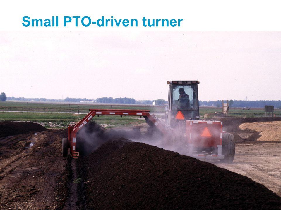 Small PTO-driven turner