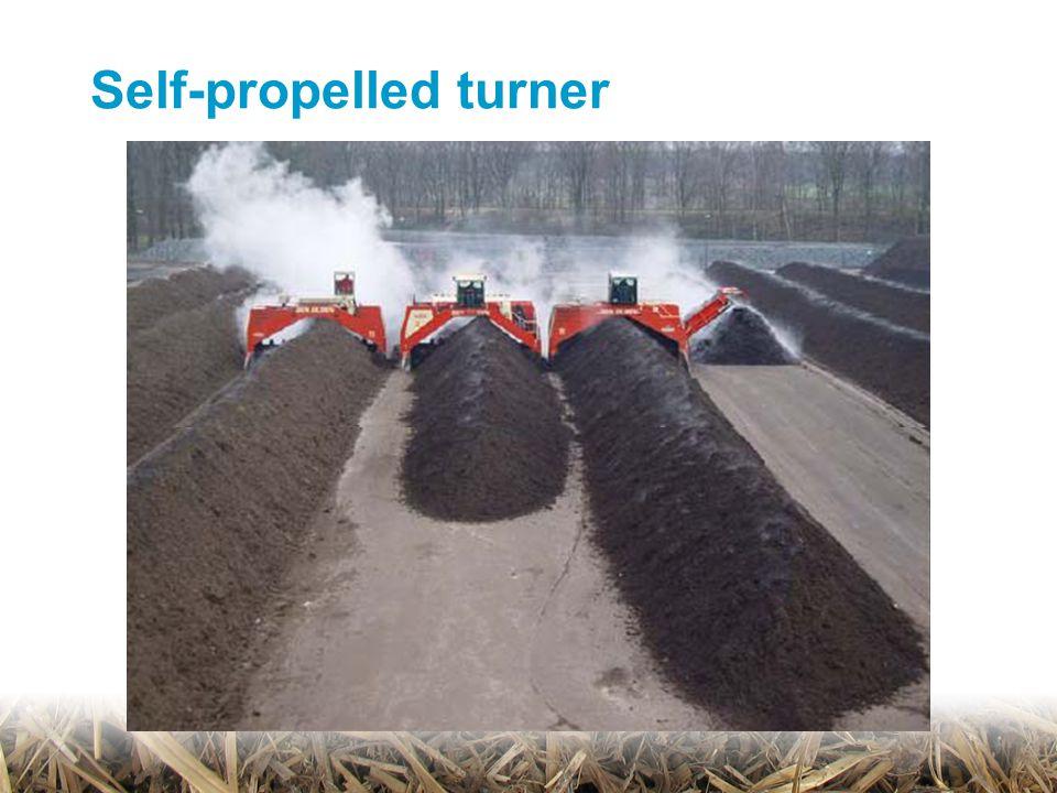 Self-propelled turner