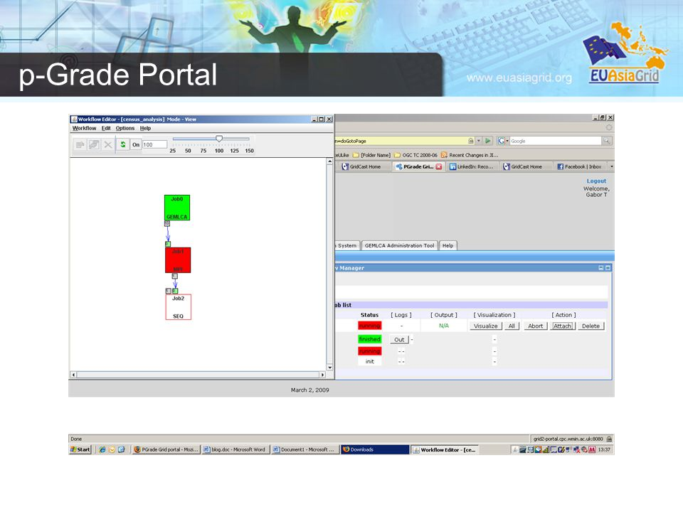 p-Grade Portal