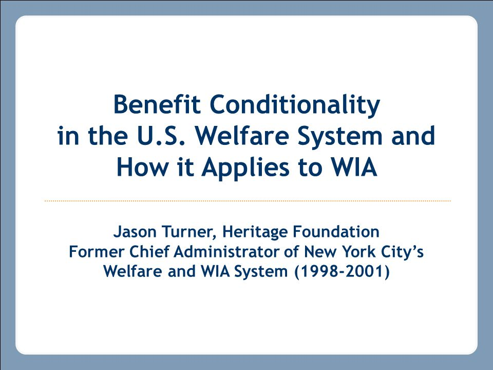 How the Texas WIA Program and the New York City's Welfare to Work Program Used Similar Management Tools to Boost Employment Effectiveness