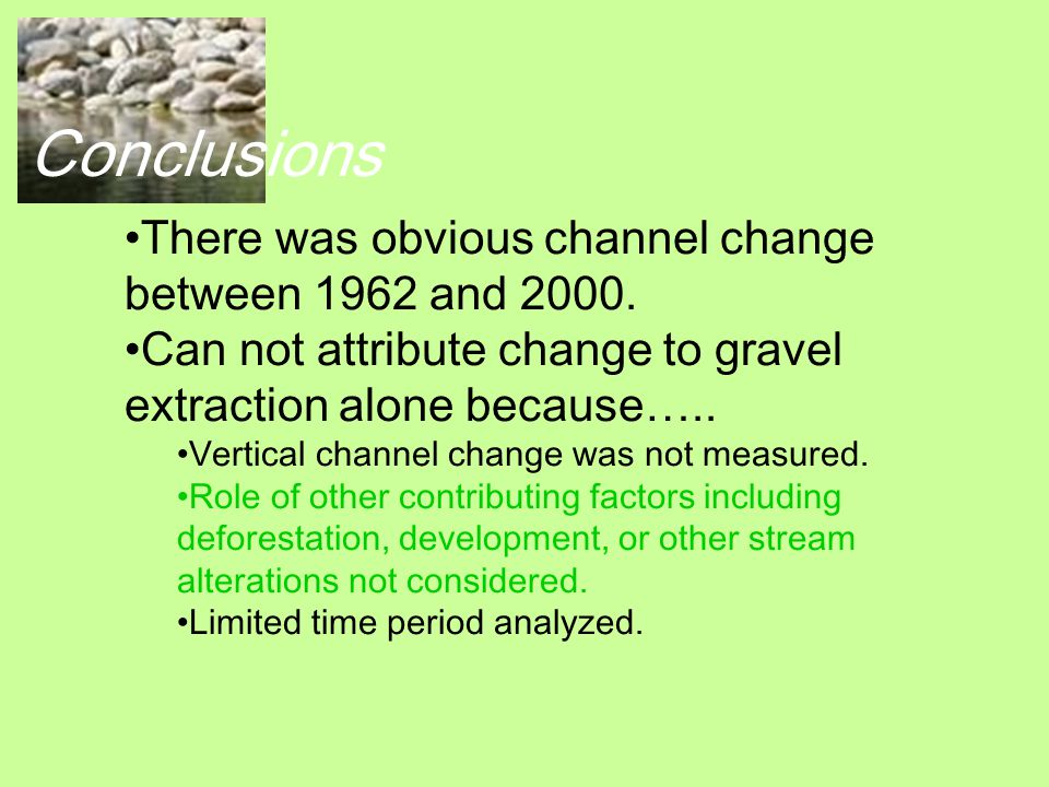 Coming Soon… Gravel extraction amounts: 1980- 1986.