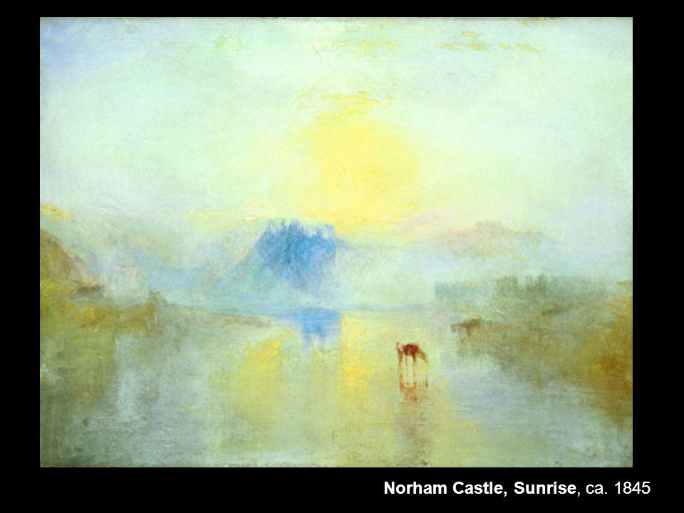 Norham Castle, Sunrise, ca. 1845