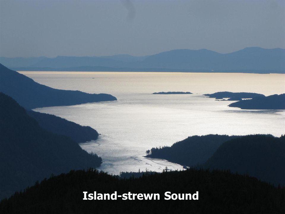 Island-strewn Sound