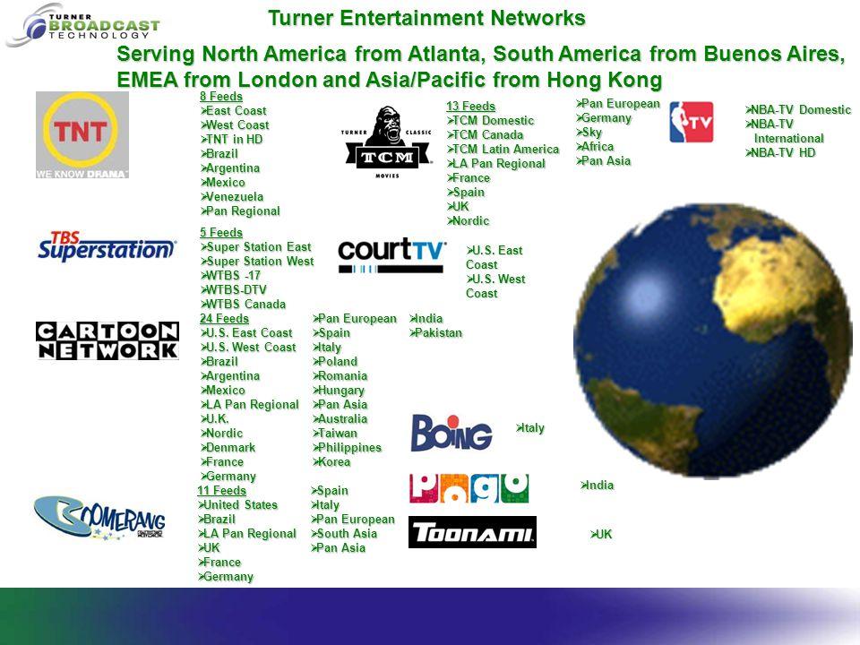  NBA-TV Domestic  NBA-TV International International  NBA-TV HD 5 Feeds  Super Station East  Super Station West  WTBS -17  WTBS-DTV  WTBS Cana
