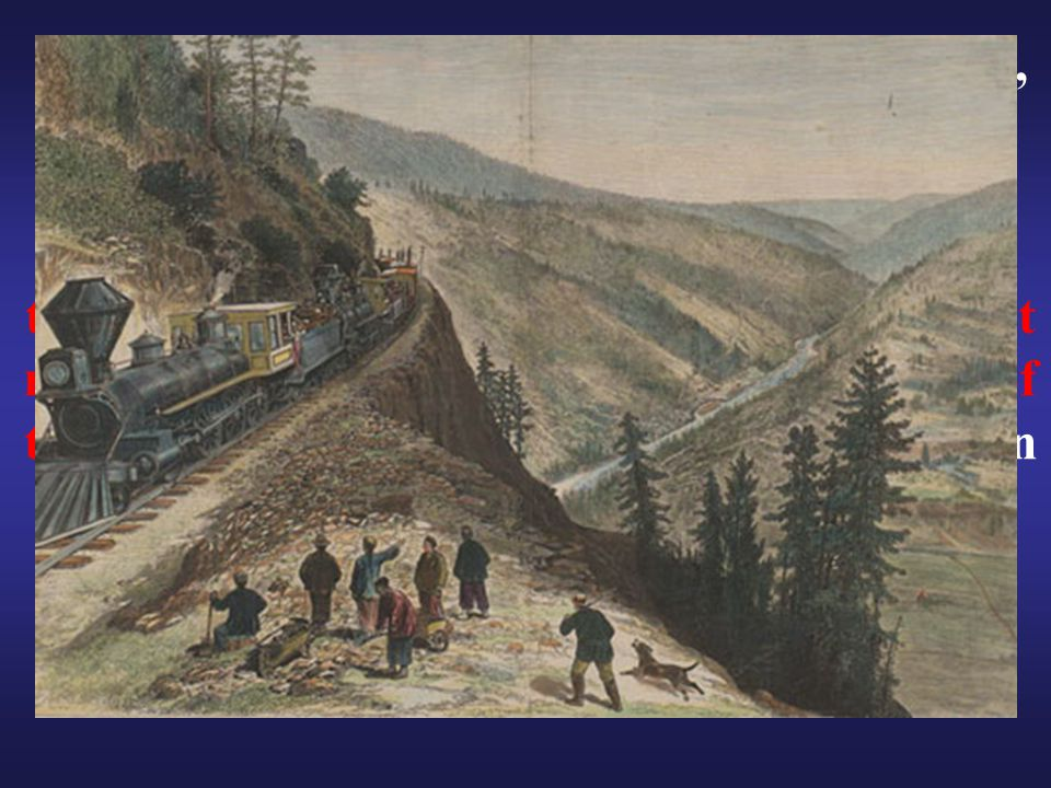 "Opened for through traffic on May 10, 1869, with the driving of the ""Last Spike"" with a silver hammer at Promontory Summit, the road established a mec"