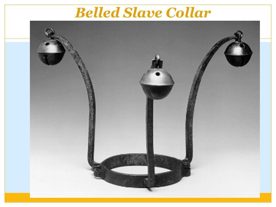 Belled Slave Collar