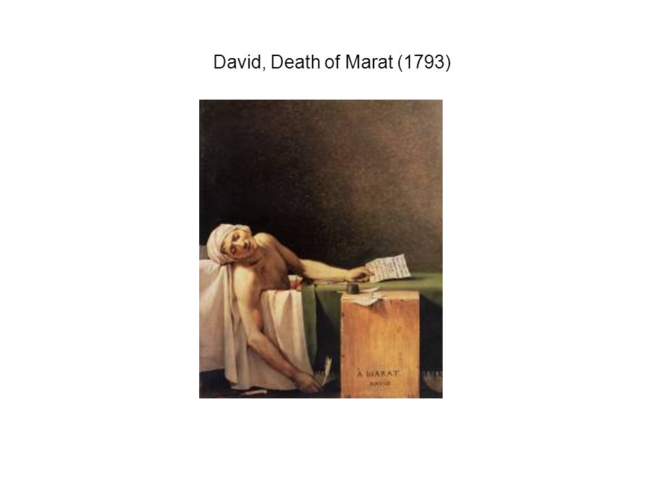 David, Death of Marat (1793)