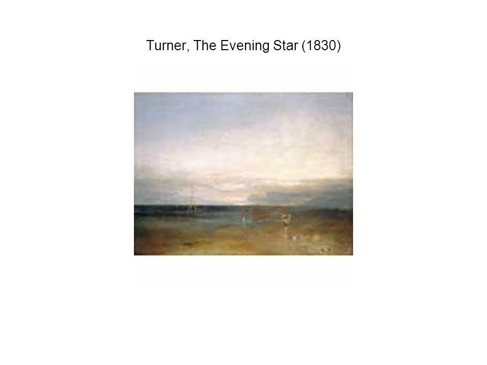 Turner, The Evening Star (1830)
