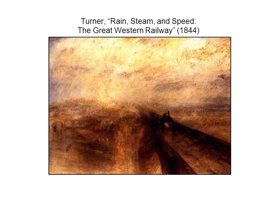 Turner, Rain, Steam, and Speed: The Great Western Railway (1844)