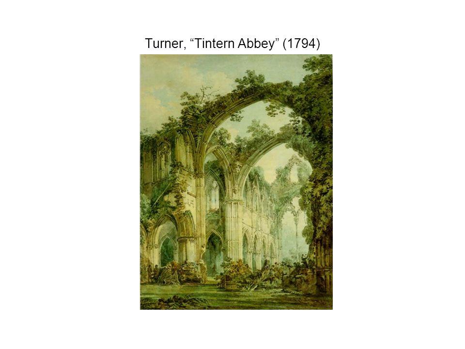 Turner, Tintern Abbey (1794)