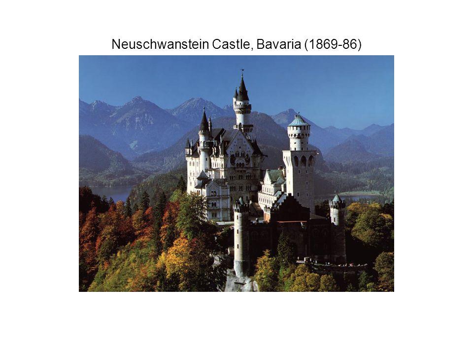 Neuschwanstein Castle, Bavaria (1869-86)