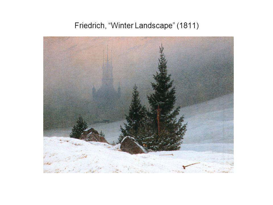 Friedrich, Winter Landscape (1811)