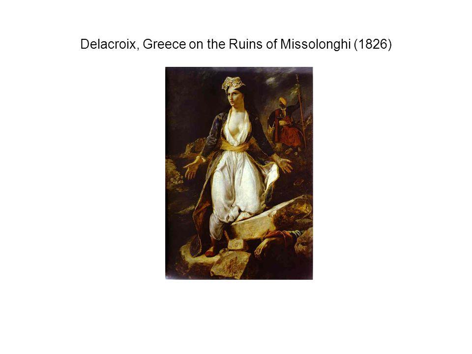 Delacroix, Greece on the Ruins of Missolonghi (1826)