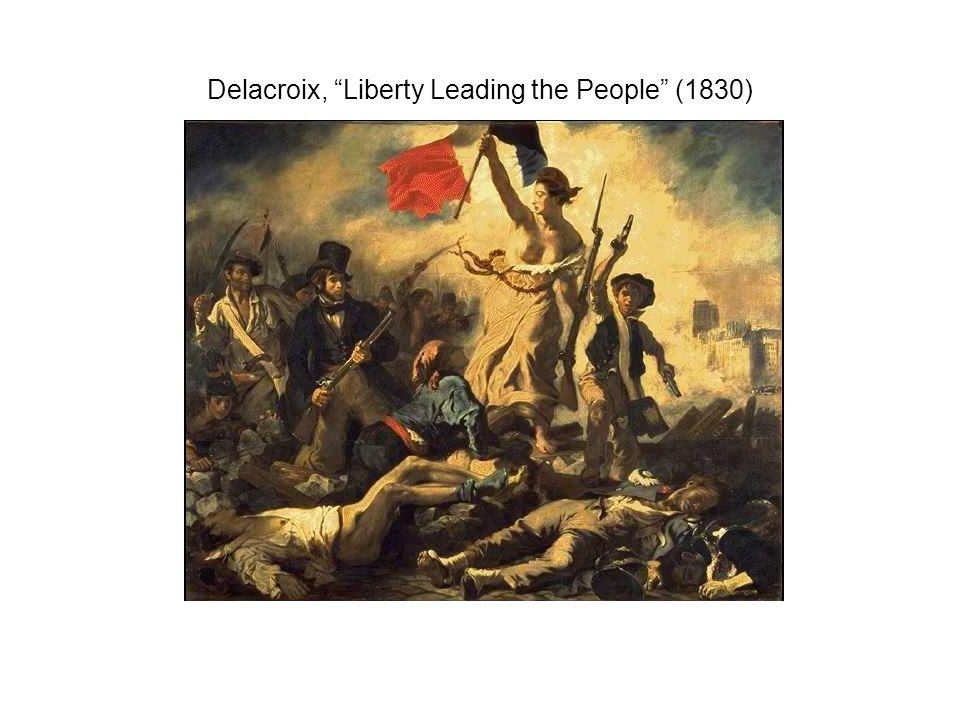 Delacroix, Liberty Leading the People (1830)