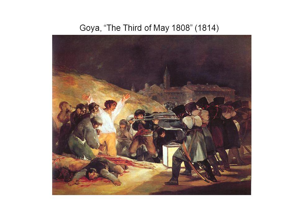 Goya, The Third of May 1808 (1814)