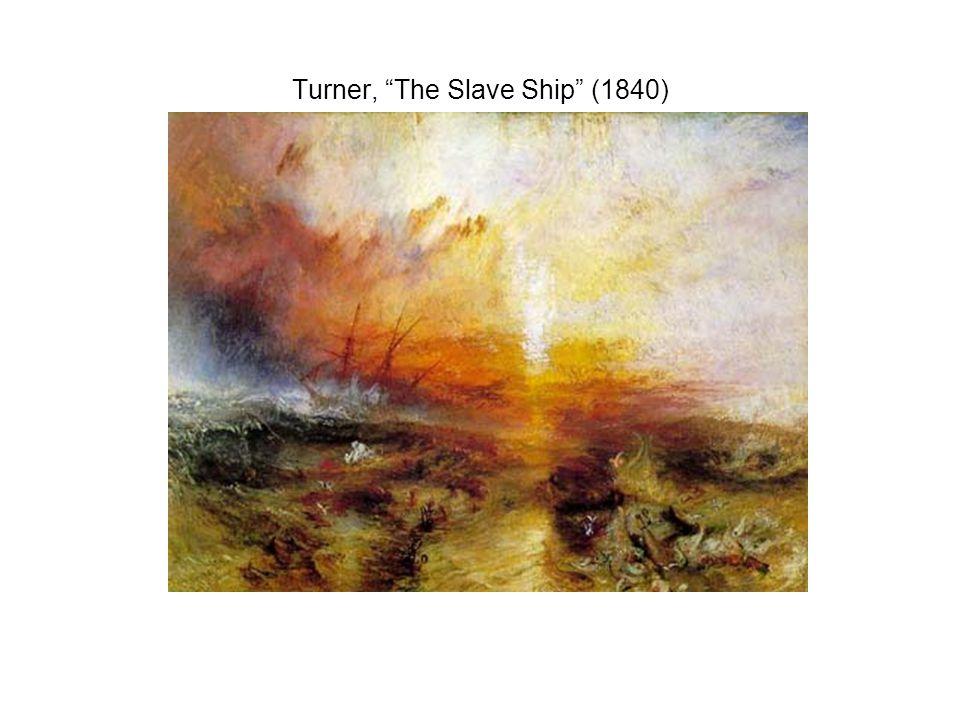 Turner, The Slave Ship (1840)