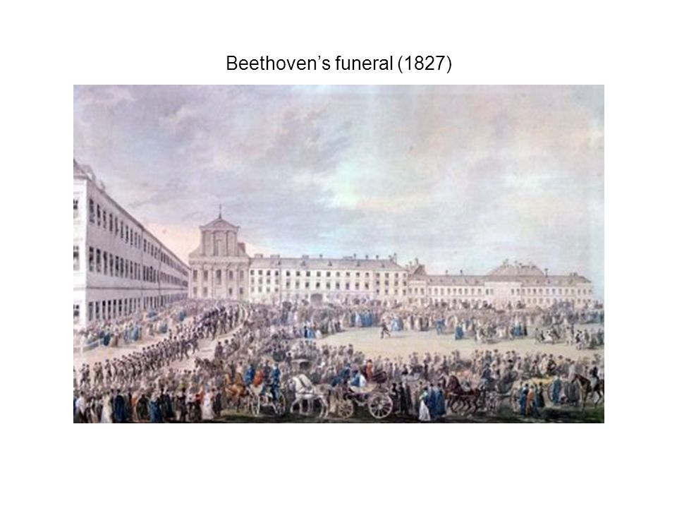 Beethoven's funeral (1827)