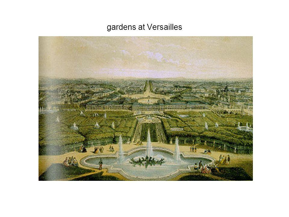 gardens at Versailles