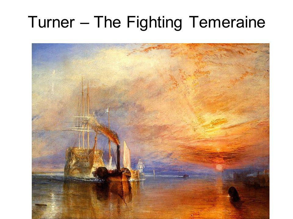 Turner – The Fighting Temeraine