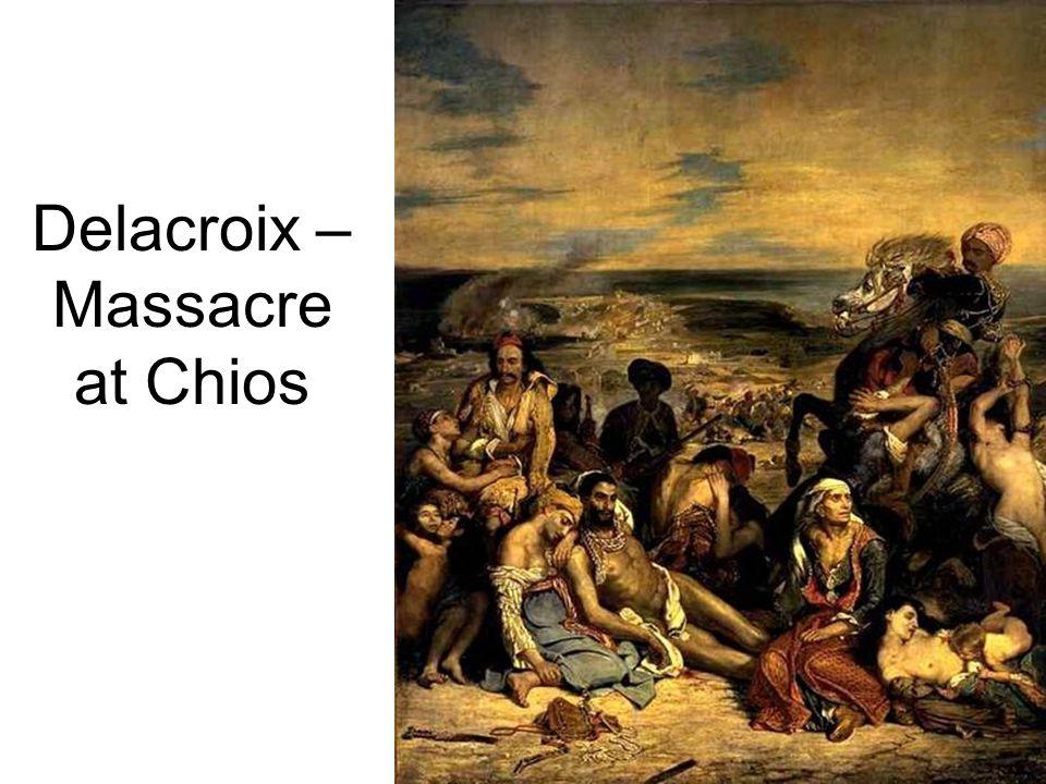 Delacroix – Massacre at Chios