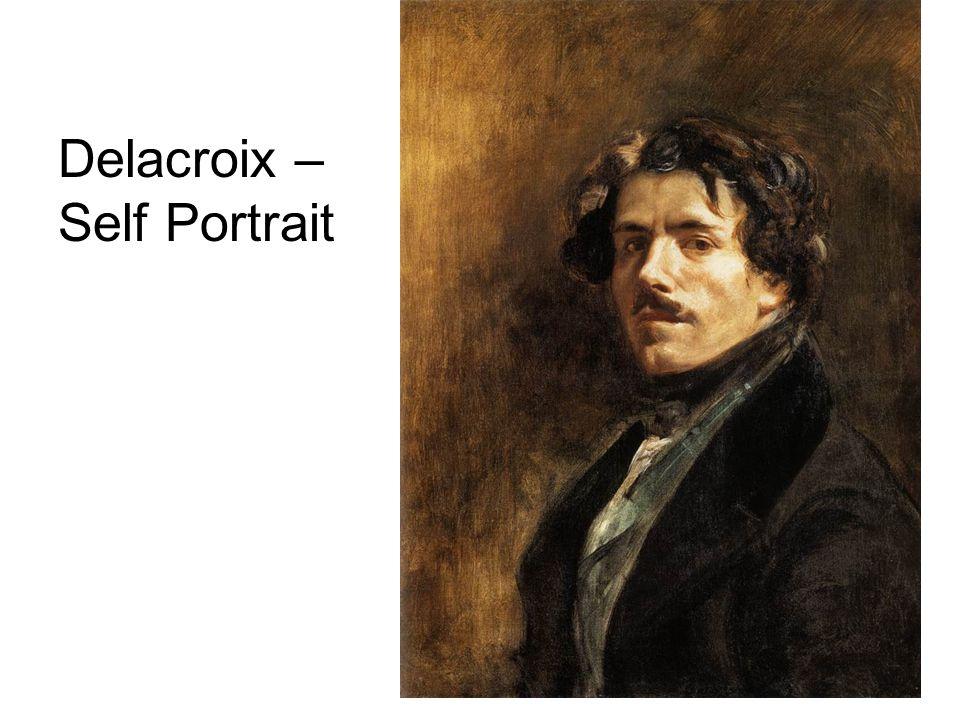 Delacroix – Self Portrait