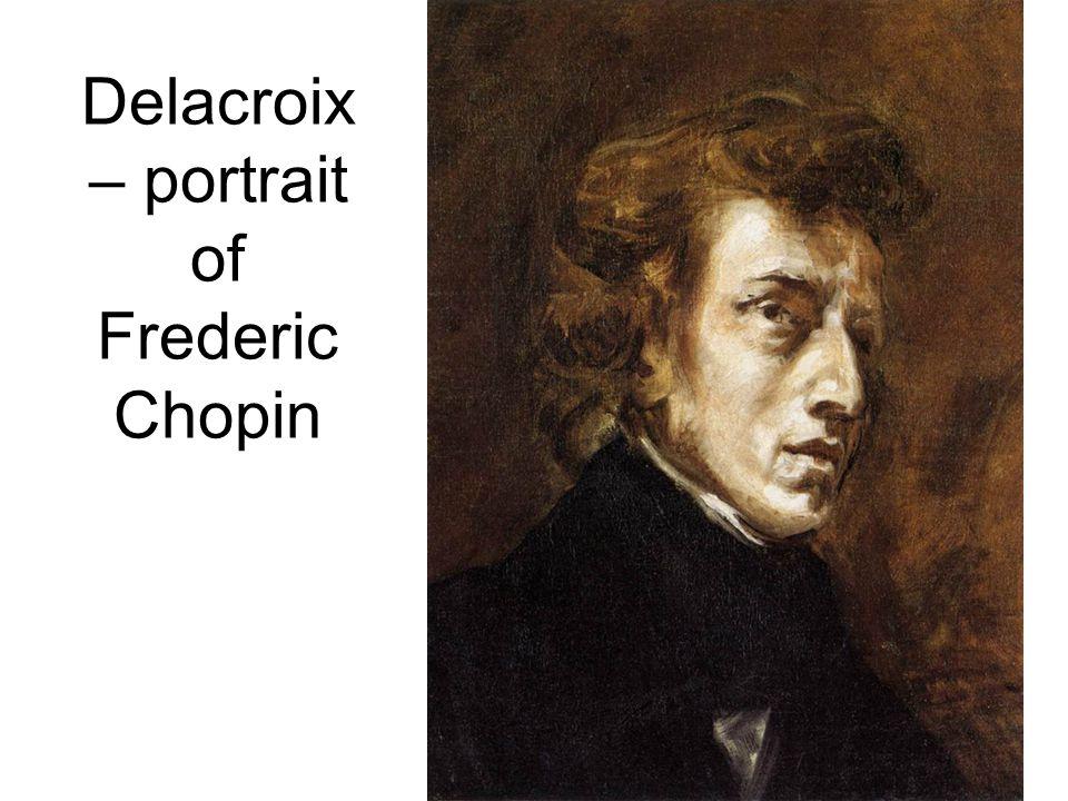 Delacroix – portrait of Frederic Chopin