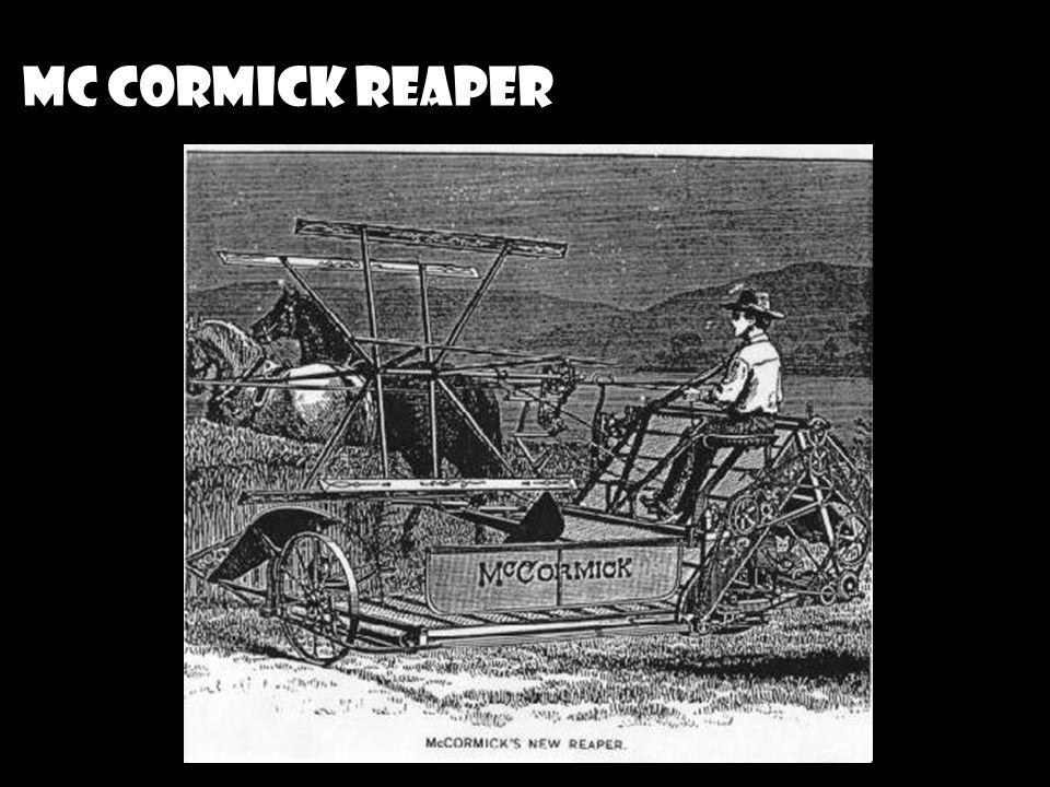 Mc CORMICK REAPER