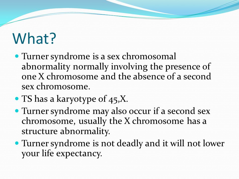 Symptoms Turner syndrome symptoms can vary amongst women symptoms minor cosmetic issues to major heart problem.
